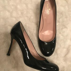 Kate Spade pumps size 8.5 black patent leather